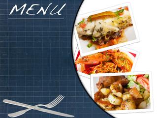 ardoise menu restaurant