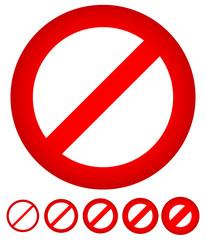 No Permission Sign