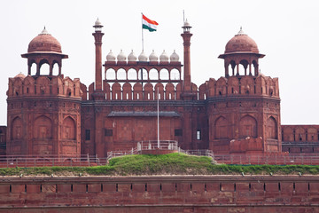 The Lahore Gate of the Red Fort, Delhi