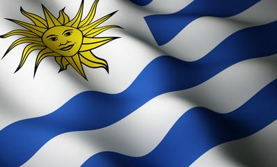 Uruguayan flag