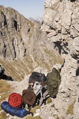 Österreich, Salzburger Land , Wanderausrüstung
