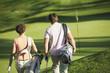 canvas print picture - Italien,Kastelruth,Golfer Fuß auf Golfplatz