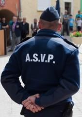 Agent de surveillance de la voie public.