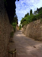 way to Monastery