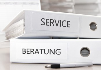 Service - Beratung Büroordner