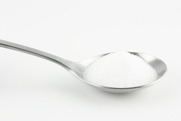 salt in spoon