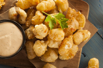 Beer Battered Wisconsin Cheese Curds