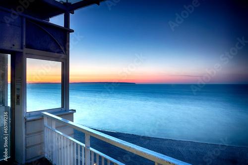 canvas print picture Fenster zum Meer