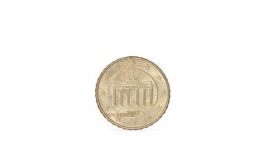 10 Cent euro münze isoliert