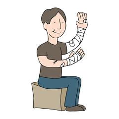 Bandaged Arms