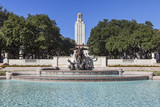 University of Texas Tower Building and Littlefield Fountain
