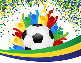 WM Feier Fußball - party soccer worldcup