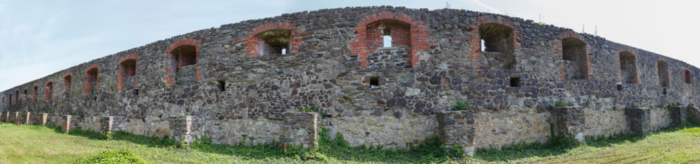 Ancient fortress wall