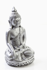 Metall- Statue von Buddha , close up