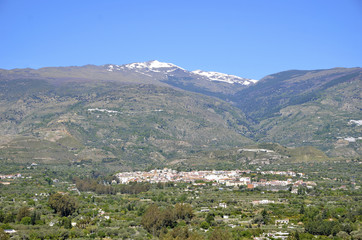 Orgiva and Sierra Nevada