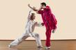 ������, ������: Kung Fu Changquan Duilian Lange Faust Style zwei M