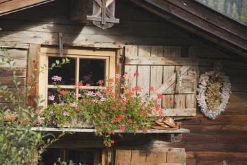 Österreich,Karwendel,Blockhaus