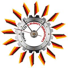 Time to Learn German - Metallic Gear