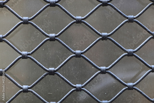 Fototapeta Steel grating
