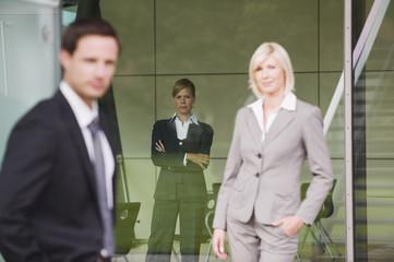 Deutschland,Geschäftsleute,skeptisch