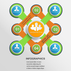Presentation Infographics elements #9