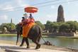 Touristen vor dem Wat Ratchaburana, Ayutthaya, Thailand, Asien - 65206433