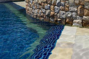 Particolare piscina.