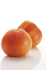 Grapefruits (Citrus paradisi )