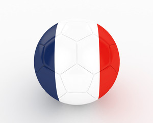 3d France Fifa World Cup Ball - isolated