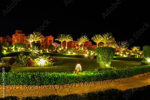 Fotobehang Egypte Hotel