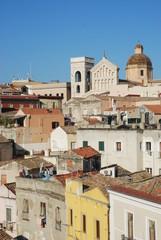 Roofs in Cagliari