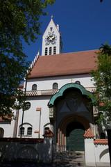 Erlöserkirche in München Schwabing