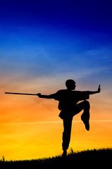 Shaolin pose