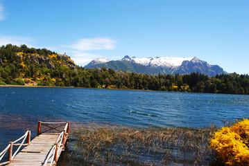 Laguna El Trébol en Bariloche, Rio Negro, Patagonia