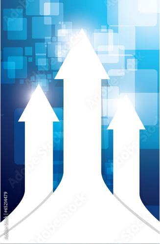 up white arrows illustration design