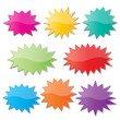 starburst speech bubbles - 65216659