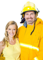 Fireman and His Wife