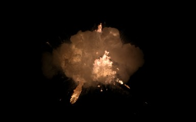 взрывной  огонь