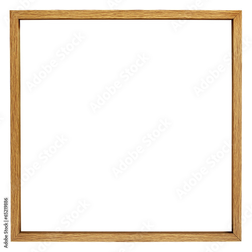 Fotobehang Bamboe holzrahmen incl. clipping path