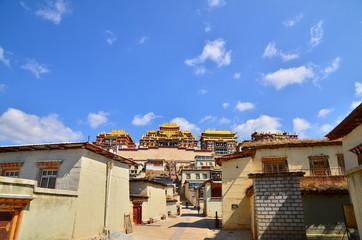 Songzanlin - Tibetan Monastery in Shangrila, Yunnan, China