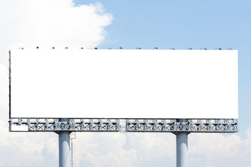 Blank billboard useful for your advertisement