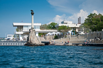 Scuttled Warships Monument in Sevastopol, Crimea