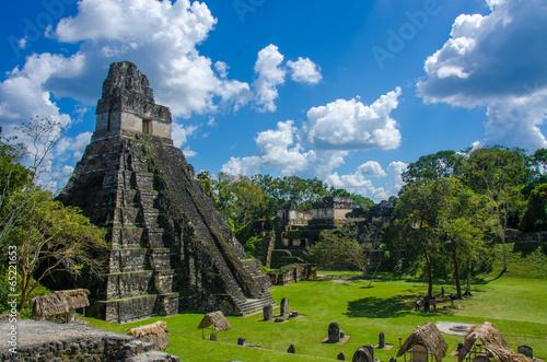 Papiers peints Amérique Centrale Tikal Maya Ruinen in Guatemala