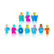 New Product Title with Paper Cut People