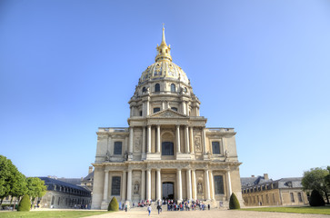 Les Invalides. Paris, France