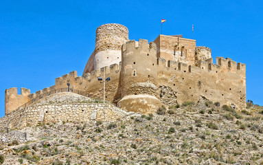 Biar Castle, Alicante Province, Region Valencia, Spain
