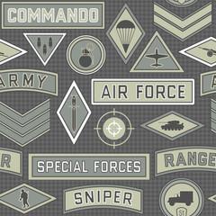 seamless military pattern 09