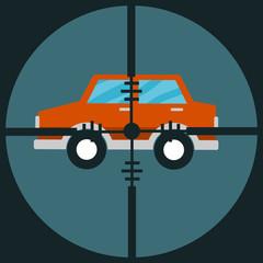 Target car