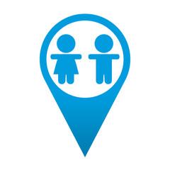 Icono localizacion simbolo infancia