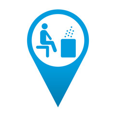 Icono localizacion simbolo sauna